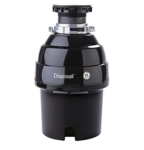 GE 3/4 HP Continuous Feed Garbage Disposer,...