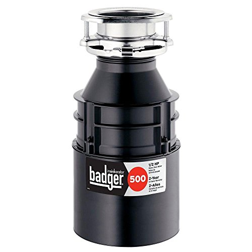InSinkErator Badger 500 1/2 HP Continuous...