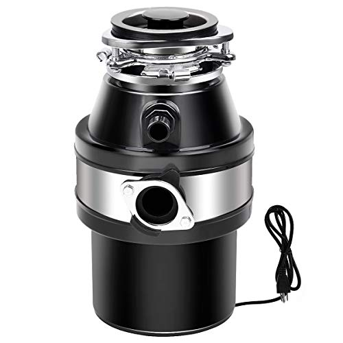 Goplus 1 HP Garbage Disposal with Power Cord,...
