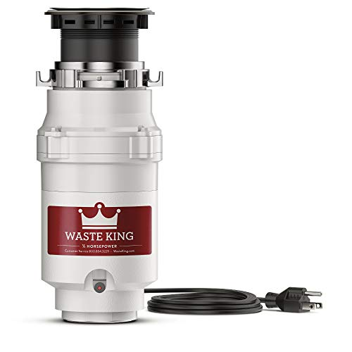 Waste King L-1001 Garbage Disposal with Power...
