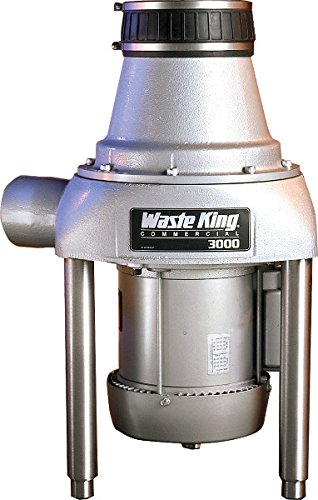Waste King 3000-3 3 HP Commercial Food Waste...