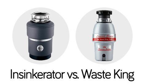 waste king vs - Badger 5 Disposal