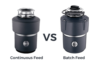 Continuous Feed and Batch Feed Garbage Disposal