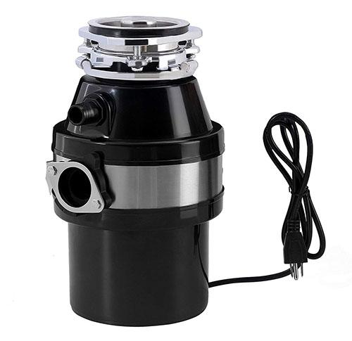 KUPPET 1.0 HP Continuous Feed Garbage Disposal