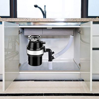 Goplus Garbage Disposal 1.0HP Installed