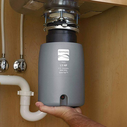 Kenmore 70211 1-2 Garbage Disposal Installation